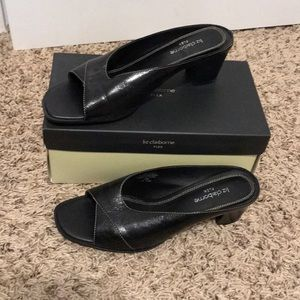 Liz Claiborne flex open toe dress shoes